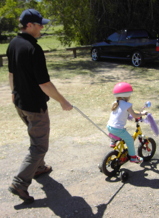 PushmeHome Kids Bicycle attachment